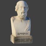 Statua di Omero