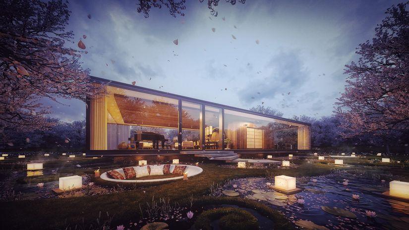 Gardenian House by Sergio Mereces