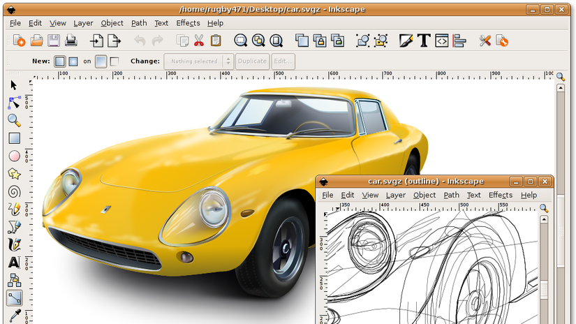 Inkscape Open Source e Free per la grafica vettoriale