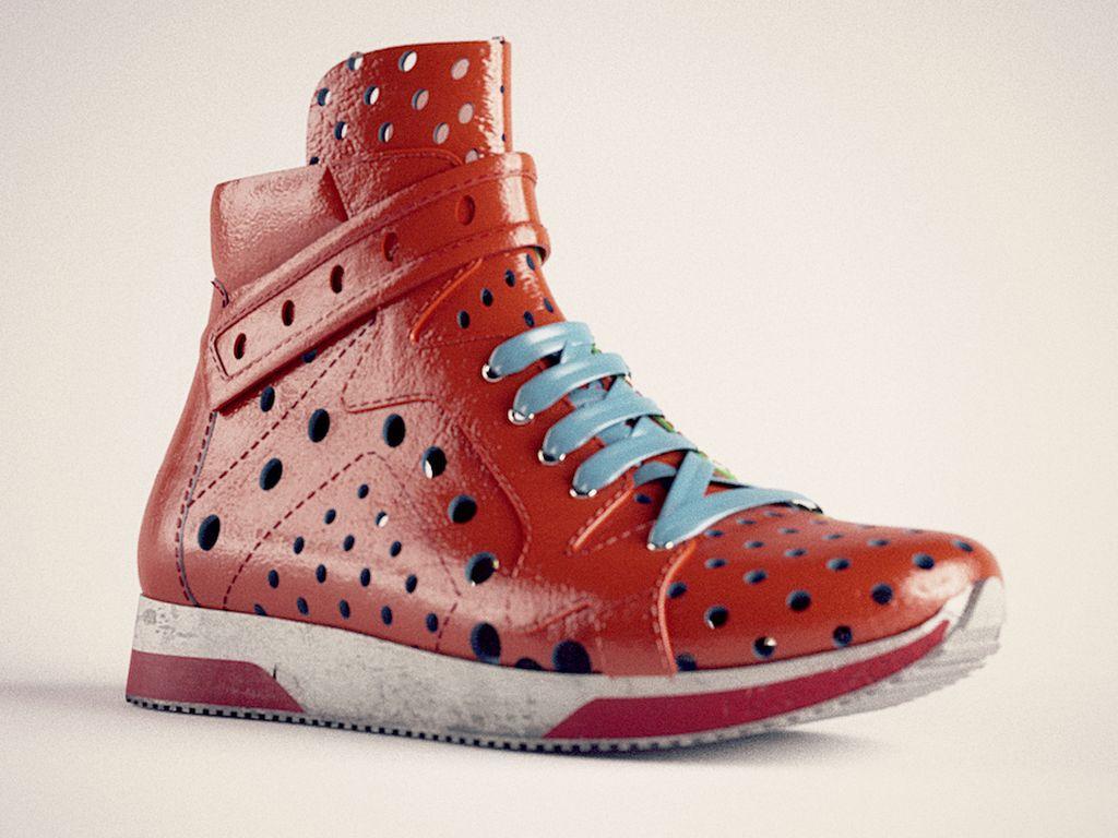 test illuminazione sneaker