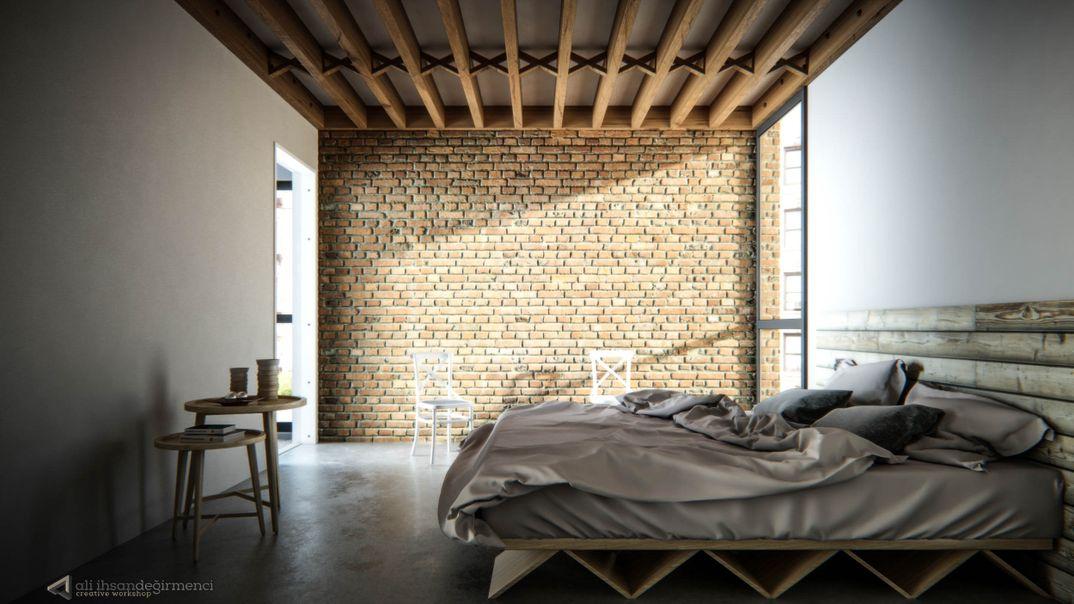 Simple Modern Bedroom
