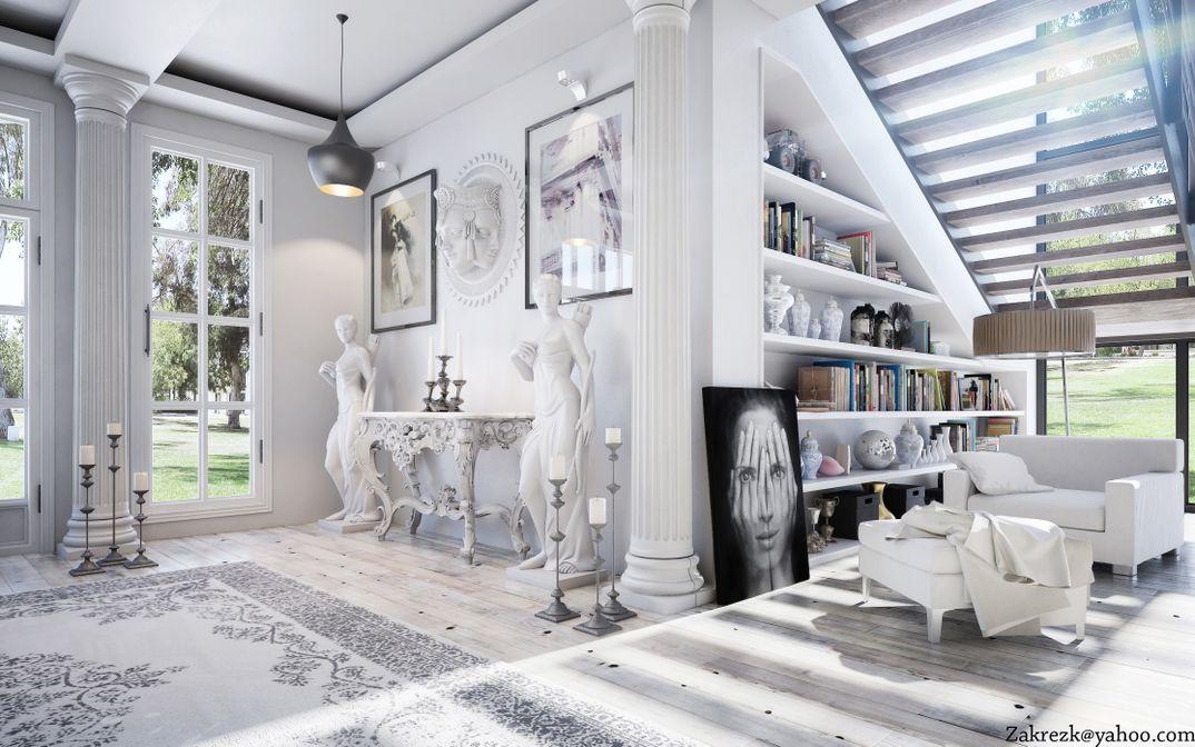 Modern Villa ( Interior Design )