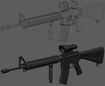 Fucile d'assalto M16
