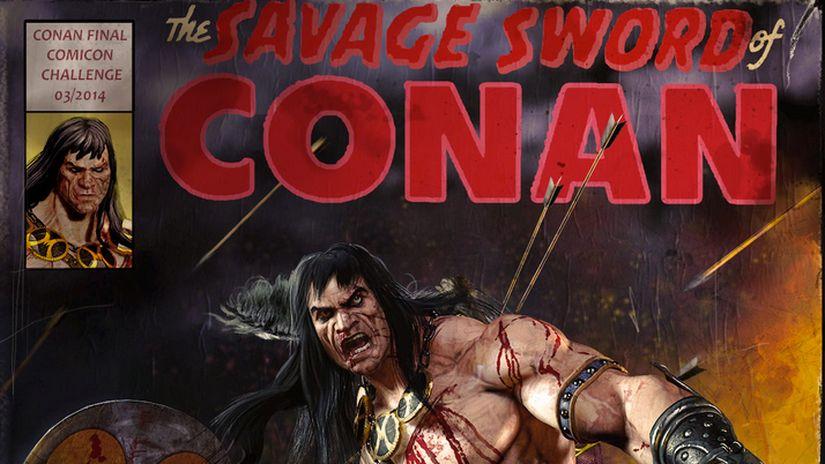 Making Of CONAN (COMICON CHALLENGE 2014)