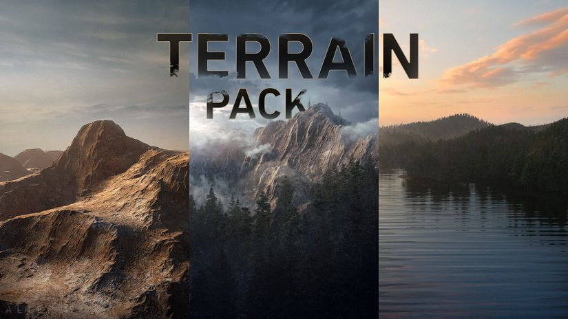 Terrain Pack: mappe di alta qualità scaricabili gratuitamente