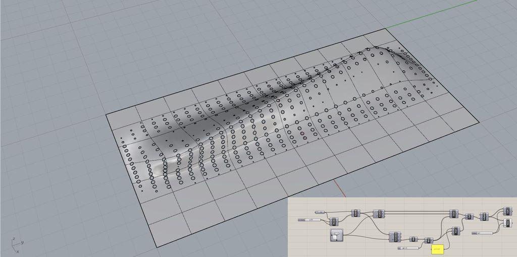 Curvature pattern