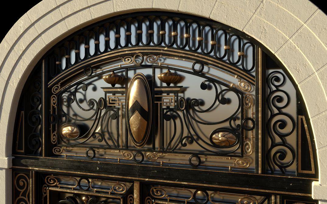 Portone Art Nouveau