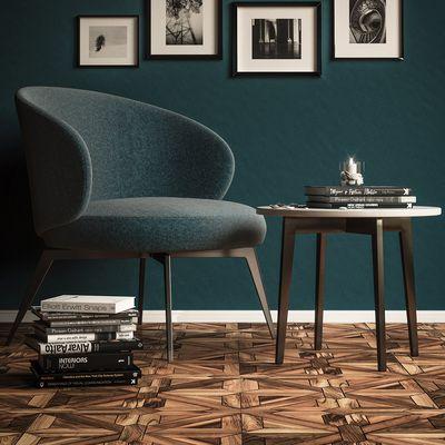 Brice armchair Lema Corona render