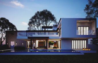 WIP Modern House Vray Render