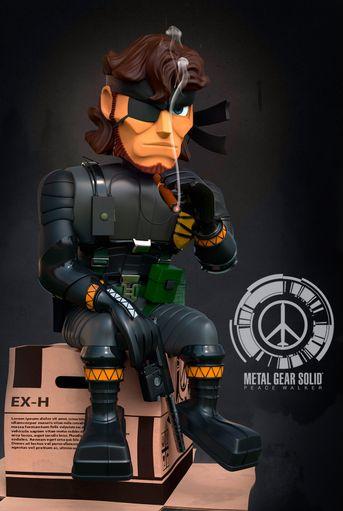 Caricatura di Bigboss - Metal Gear Solid