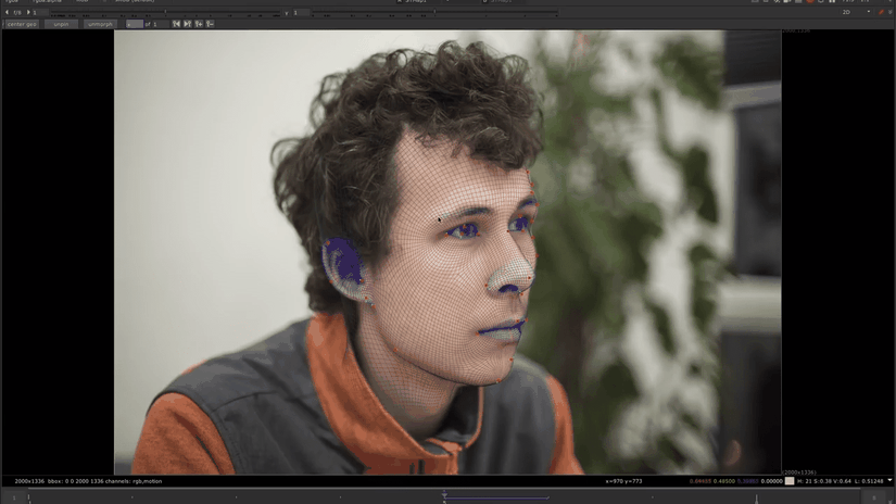 FaceBuilder: creare una testa umana direttamente in Nuke