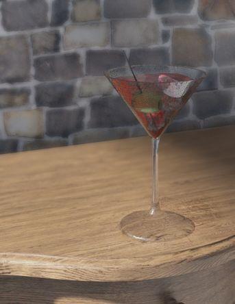 Martini Red