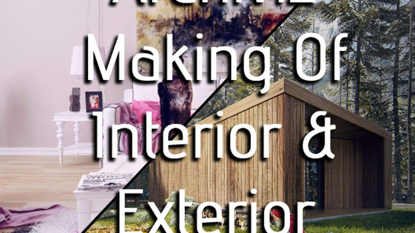 Archiviz Making of Interior & Exterior