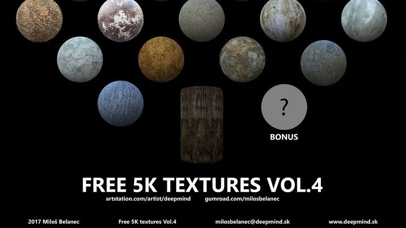 21 Texture in 5k da scaricare gratuitamente