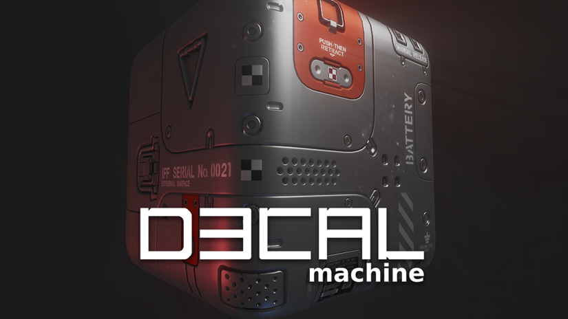 DECALmachine per Blender
