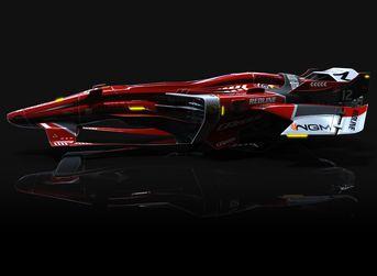 Project-SPEED..... F1 sci-fi