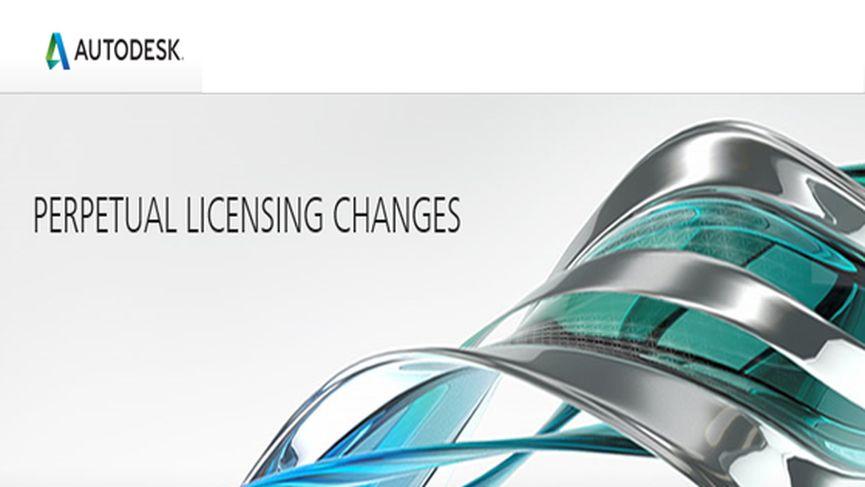 Autodesk Perpetual Licensing Changes
