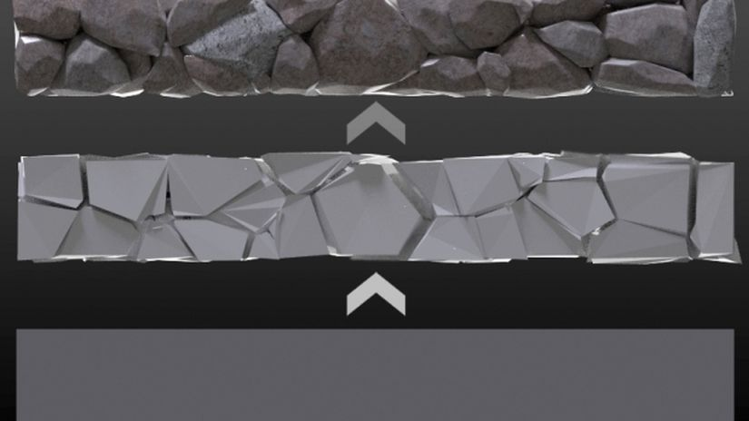 Create a Stone Wall in Blender