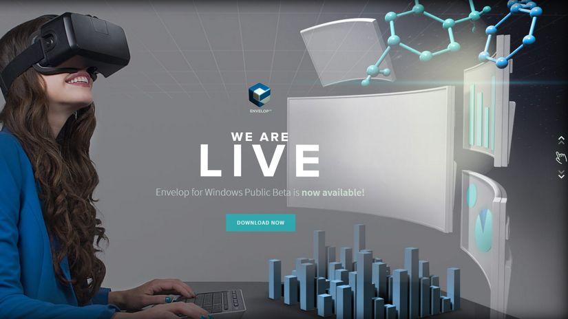 Envelop VR - quando Windows diventa realtà... virtuale.