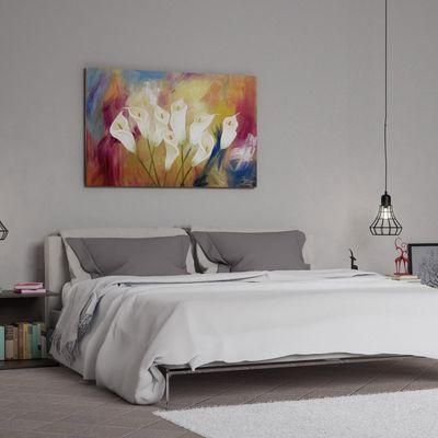 Interior bed realistic render