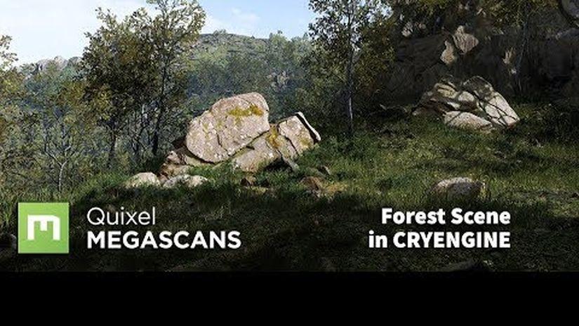 Creare la scena di una foresta con CryEngine
