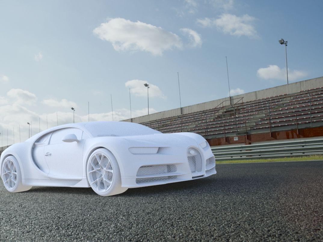Bugatti Chiron Sport W.I.P.