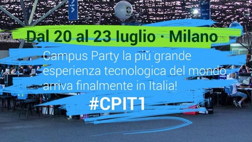 Treddi.com ti invita a Campus Party!