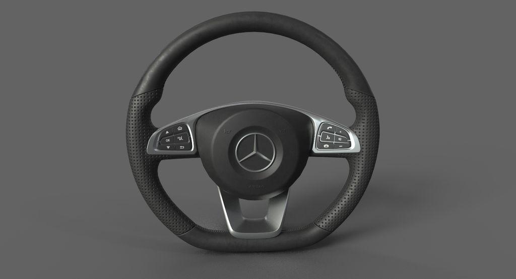 Mecedes steering wheel model