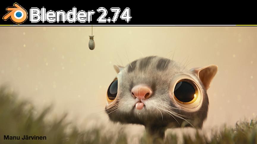 Blender 2.74 disponibile