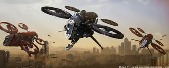 Drone SciFi
