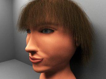 Modellazione Organica (testa Donna)