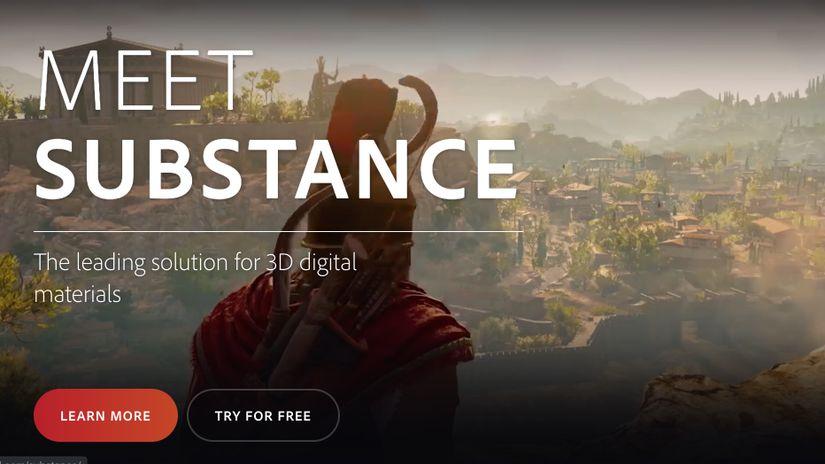 Adobe cambia le licenze per i prodotti Substance