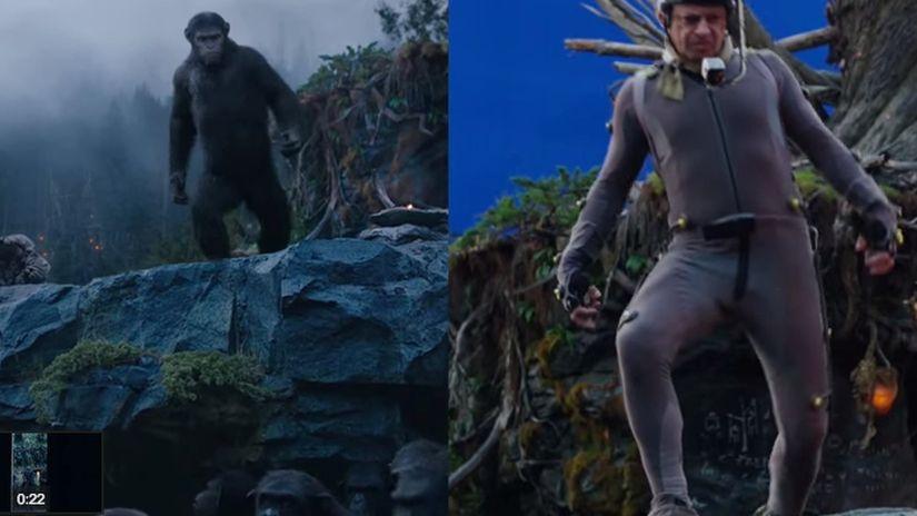 L'alba del pianeta delle scimmie, un altro salto di qualità negli FX?