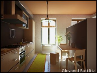 New Interior - Kitchen