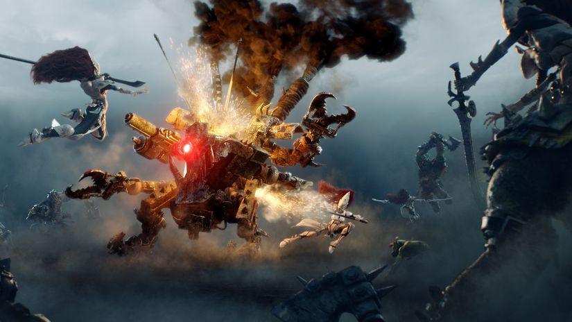 Dawn of War III: i cinematic di Axis Animation compositati con Fusion Studio