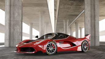 Ferrari FXX K cover