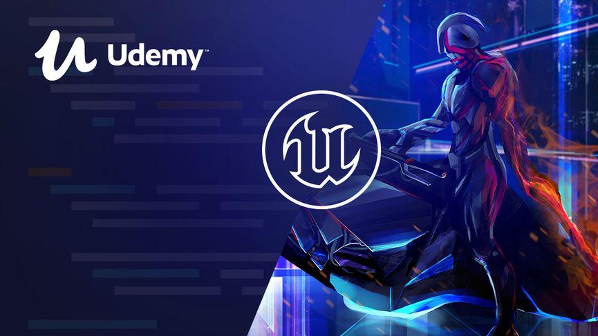 Udemy: i corsi 3D su Unity, Unreal Engine e Blender
