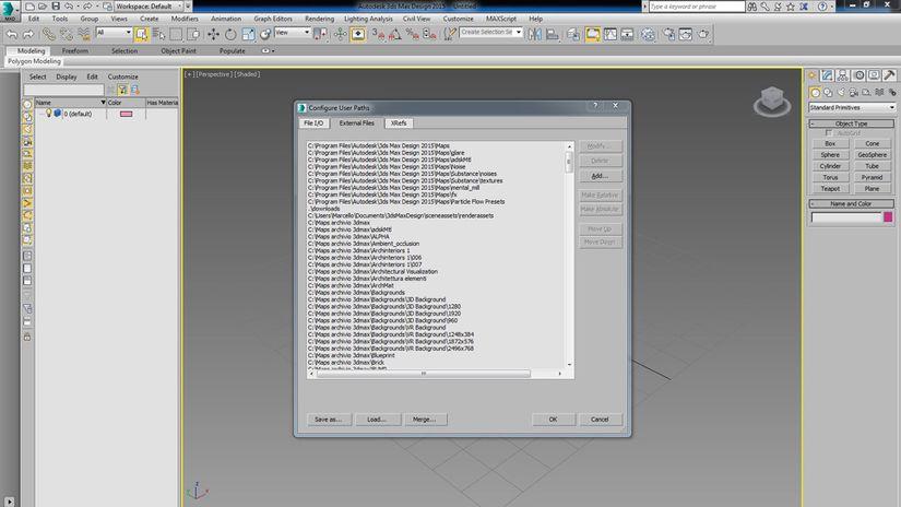 3ds max Pulizia file di Configurazione