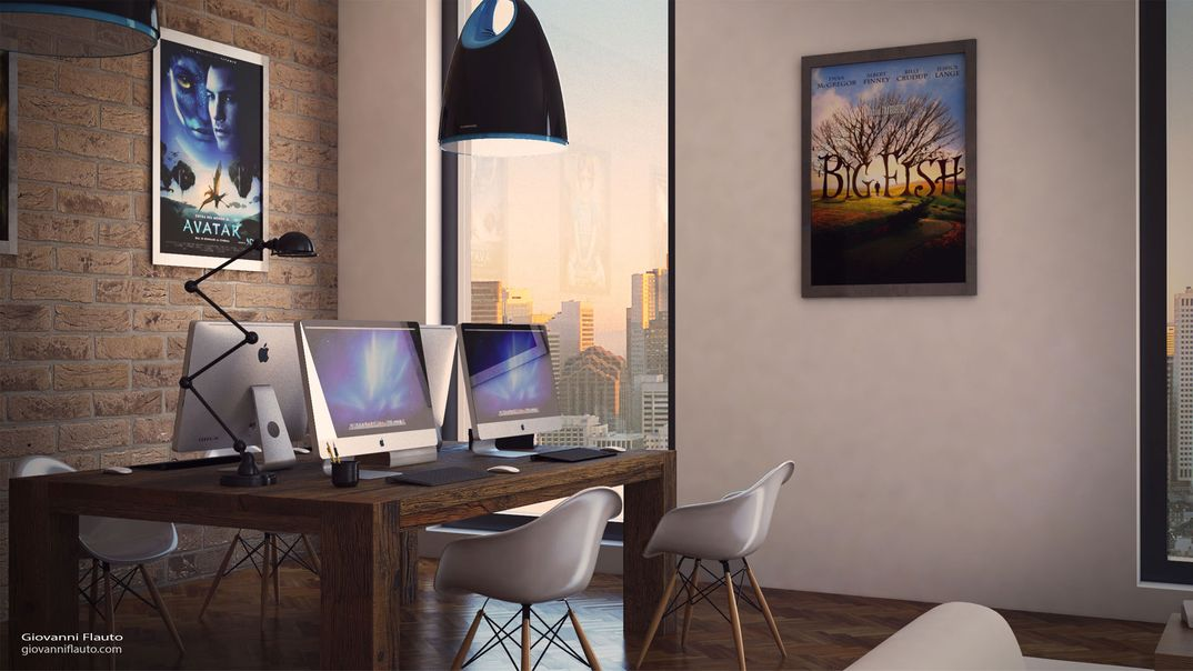 Office by Giovanni Flauto