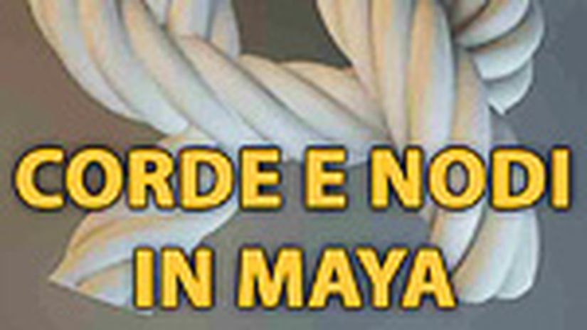 Modellazione di una corda in Maya