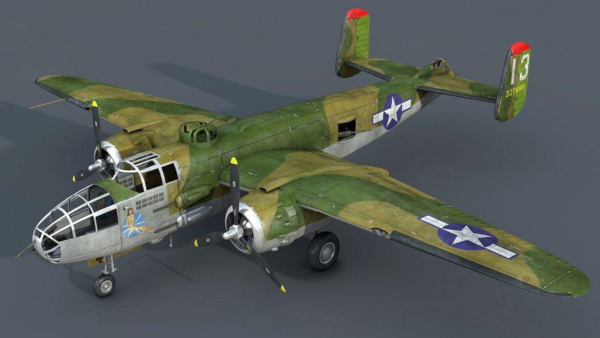 Videotutorial B-25 Mitchell