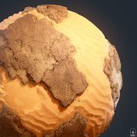 Rocks with sands - Substance Designer
