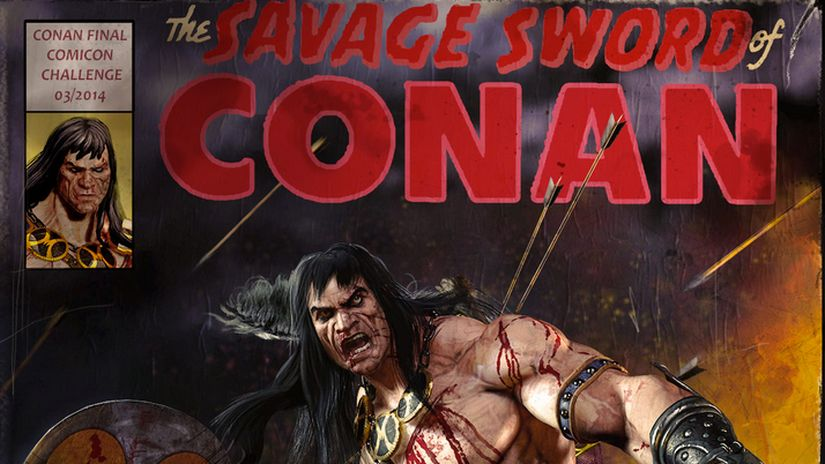 Making Of CONAN (COMICON CHALLENGE 2014)