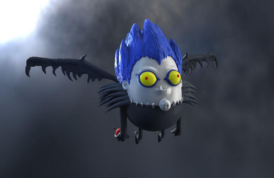 Ryuk - Death Note... Versione